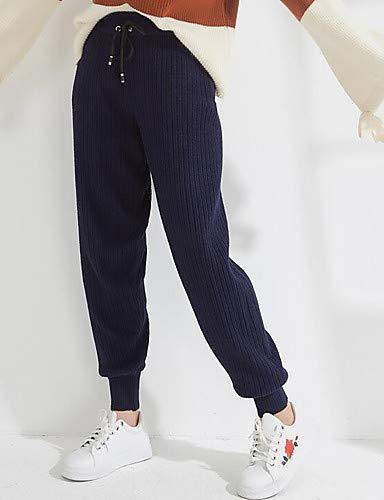 Yfltz Pantaloni Active Tinta Donna Da Unita Taglia Unica Larghi Blue Nero Navy rErqdwH