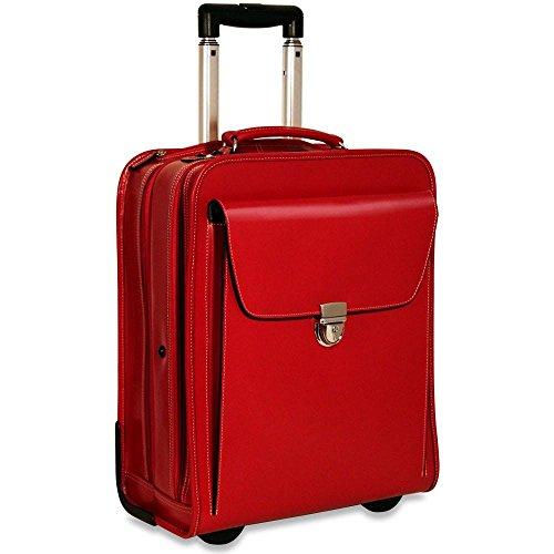 Jack Georges   Leather Handbag,Red,One (Jack Georges Italian Leather Handbag)