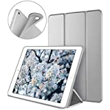 DTTO iPad 9.7 Case 2018 iPad 6th Generation Case / 2017 iPad 5th Generation Case, Slim Fit Lightweight Smart Cover with Soft TPU Back Case for iPad 9.7 2018/2017 [Auto Sleep/Wake] - Space Grey
