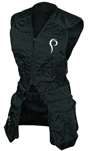 Prois Women's Competitor Shooters Vest, Black, Small
