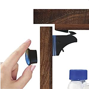 Amazon Com Child Cabinet Locks For Baby Safety Pairs