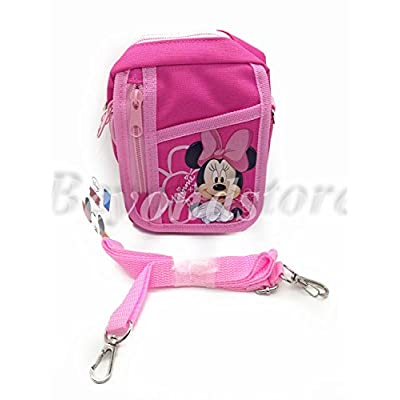 NEW Disney Minnie Pink Camera Bag Case Red Bag Handbag: Toys & Games