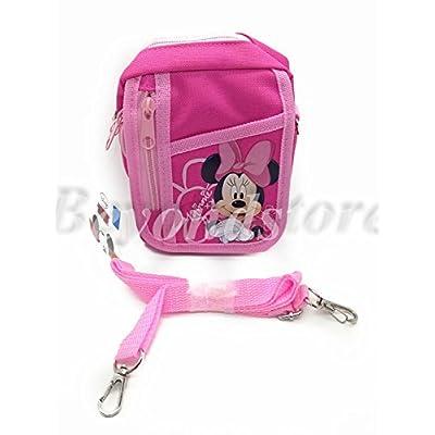 NEW Disney Minnie Pink Camera Bag Case Red Bag Handbag: Toys & Games