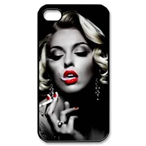 diy zhengMarilyn Monroe Snap On Carrying Case for Ipod Touch 4 4th , smoking