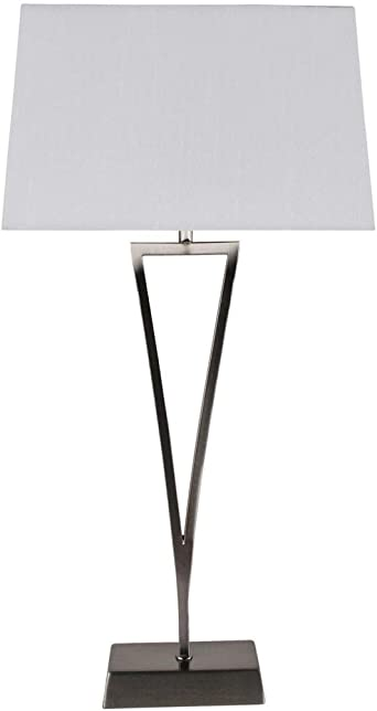 modern lounge lamps table white