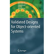 Validated Designs for Object-oriented Systems