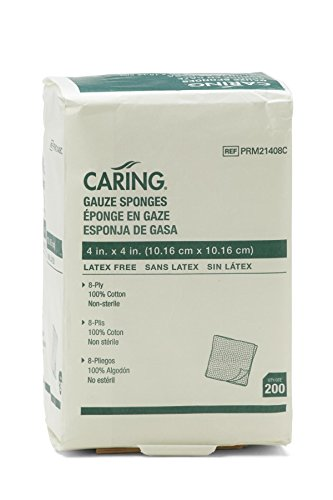 Medline PRM21408CZ Caring Non Sterile Sponges