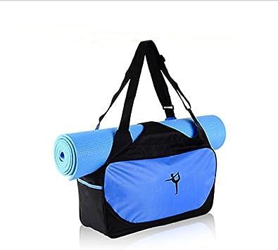 Fablcrew Sac Tapis de Yoga Sac de Yoga Sacs de Sport Sac /à Bandouli/ère Imperm/éable Antiderapant Pliable sans Tapis de Yoga