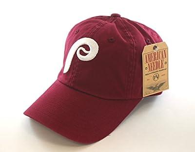 MLB Authentic Philadelphia Phillies Ballpark Cardinal Adjustable Cap