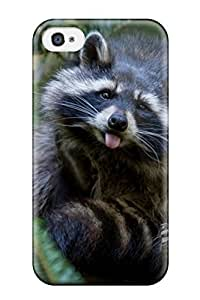Popular Iphone New Style Durable Iphone 4/4s Case Raccoon