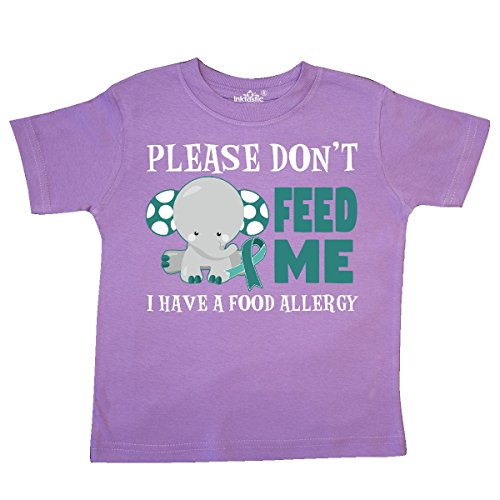 inktastic - Please Dont Feed Me I Have a Food Toddler T-Shirt 4T Lavender 29dbf