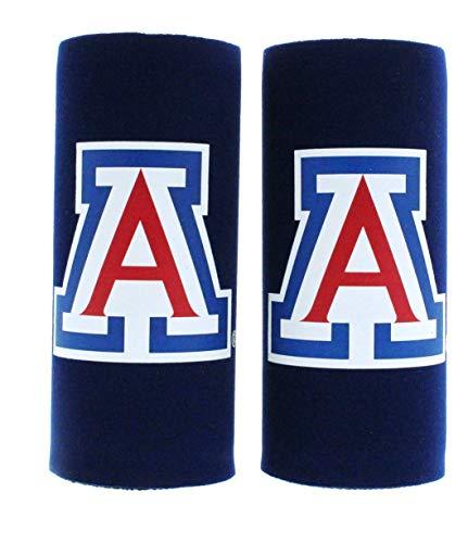 NCAA College Ultra Slim Beer Can Holder Cooler 2-Pack (Arizona Wildcats)