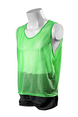 (Kwik Goal Hi-Vis Scrimmage Vest, Green, Youth)