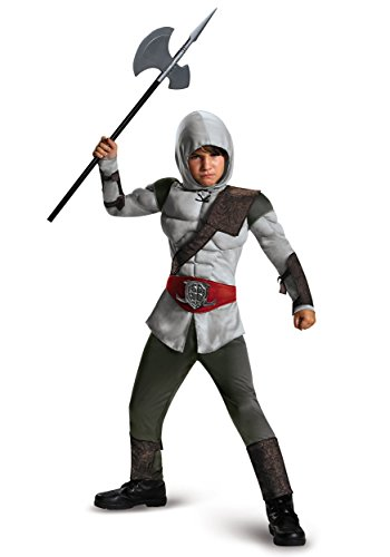 Assassin Ezio Costumes (Assassin Muscle Costume, Medium (7-8))
