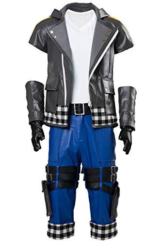 Kingdom Hearts III Riku Outfit Halloween Cosplay Costume Full Set