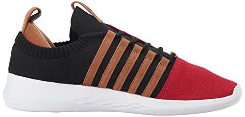 Sneaker Red brown swiss black K Men's White q4EBwxUH