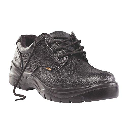 Baustellen Kohle Sicherheit Schuhe Schwarz Größe 6