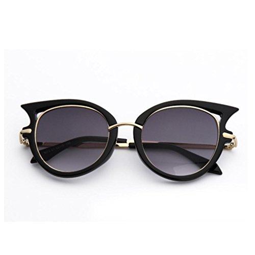 092e62ff36c65 Lunettes de Soleil 2018 Ansenesna Women Sunglasses Mode Lunette de Soleil  Femme Œil de Chat Miroité ...