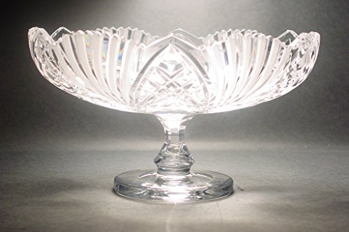 Cut Glass Compote (Kusak Cut Glass Works Symphony Compote)