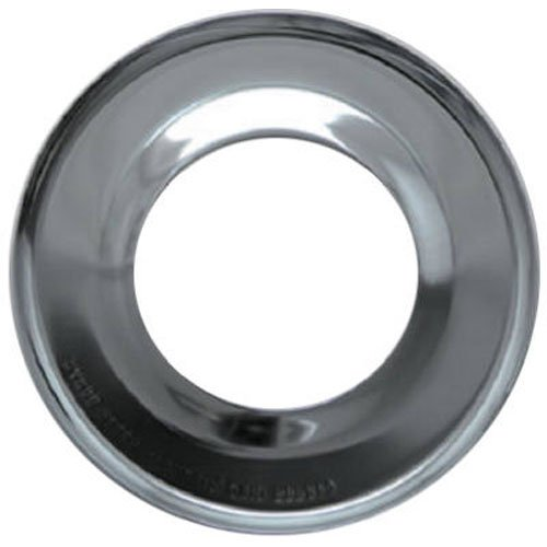 RANGE KLEEN RGP-200 Chrome Range Round Pan/Orange Label (Round Gas Drip Pan)