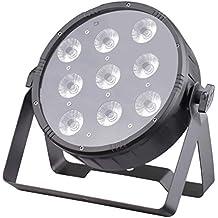 JMAZ LP94S Crazy Par Quad 9 LEDs 4in1 RGBW Par Light for DJ Stage Wedding Party Uplighting