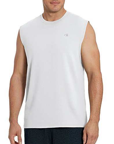 (Champion Men's Classic Jersey Muscle Tee)