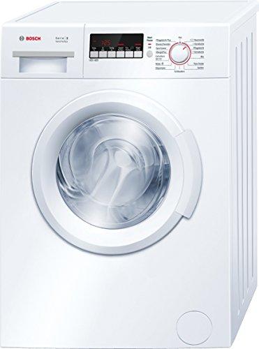 Bosch WAB28222 Serie 2 Waschmaschine Frontlader / A+++ / 153 kWh/Jahr / 1400 UpM / 6 kg / Weiß / VarioPerfect™ / ActiveWater™ Mengenautomatik