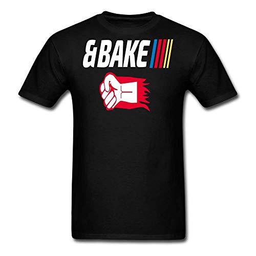 LowB Clothing Shake and Bake Couples Mens T-Shirt, Bake