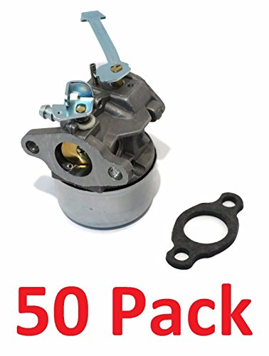 (50) CARBURETORS Carbs for Tecumseh HSK600 HSK635 TH098SA 3 hp 2 Cycle Engines by The ROP Shop by The ROP Shop