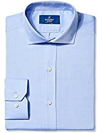 Men's Fitted Solid Non-Iron Dress Shirt
