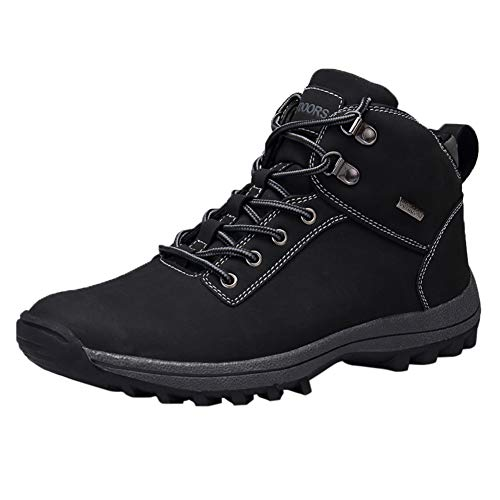 ng Boots Men Ankle Support Waterproof Lightweight Non-Slip Outdoor Sports Shoes (Men 11 D(M), 572-1black) ()