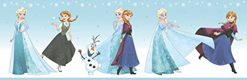 FR3524-3 - Magical Kingdom Blue Disney Frozen Galerie Wallpaper Border