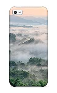 New Style 7351558K91325105 MarvinDGarcia Case Cover Protector Specially Made For Iphone 5c Foggy Landscape