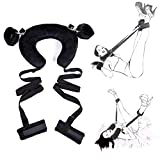 Heat-Tracing Bondage Strap Neck Pillow Sexual Passion Alternative Sex Position Master Leg Spreader Strap,One Size Fits All