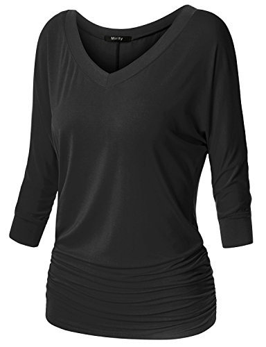 Mirity Womens Sleeve Shirring Dolman product image