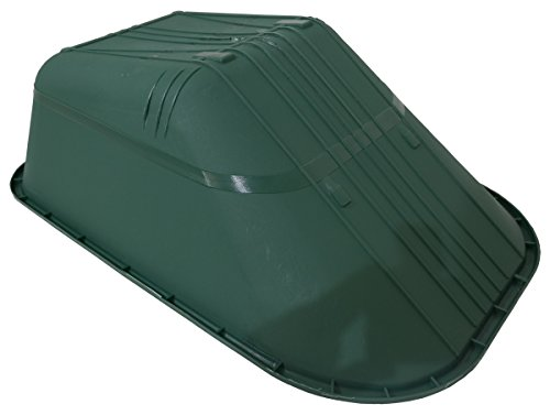 Replacement Wheel Barrow Body Tray 110 Litre Hard Plastic NO Holes Made in UK by KD & JAY