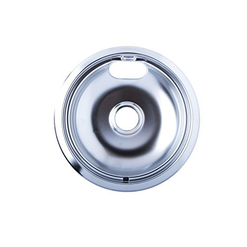 Range Kleen 101-AM Style A 6-Inch Heavy Duty Universal Drip Bowl, Chrome
