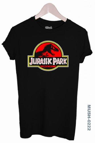 Dress Your Style MUSH-Maglietta Jurassic Park, con logo della Regina), azul - azul marino