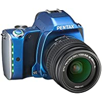 Pentax K-S1 SLR Lens Kit with DA L 18-55 mm Lens (Blue) Basic Facts Review Image