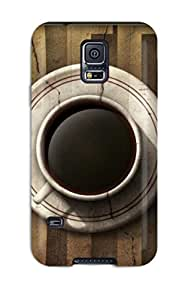 New Galaxy S5 Case Cover Casing(cup Of Coffee) 8305496K42754233