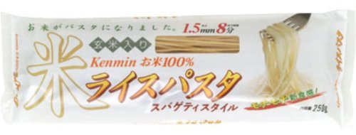 Kenmin Rice pasta spaghetti style 250g by KENMIN