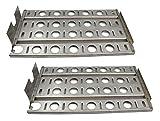 Hongso SPB571-2 Stainless Steel BBQ Gas Grill Heat Plate, Heat Shield for Lynx L27 Models (16 7/8'' x 9 1/2'')