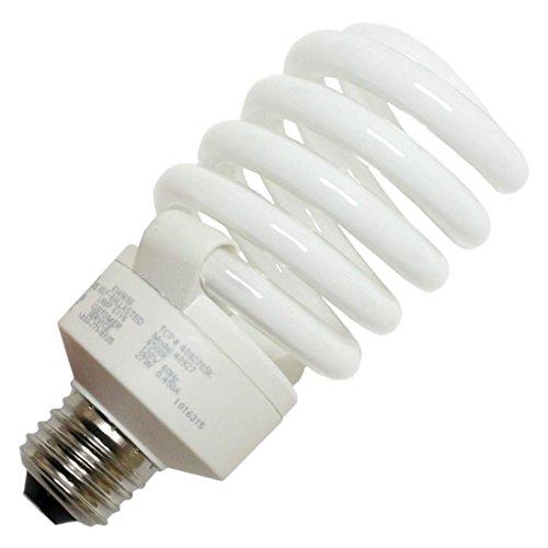 - TCP 4892765k CFL Pro A - Lamp - 100 Watt Equivalent (27W) Full Spectrum Daylight (6500K) Full Spring Lamp Light Bulb