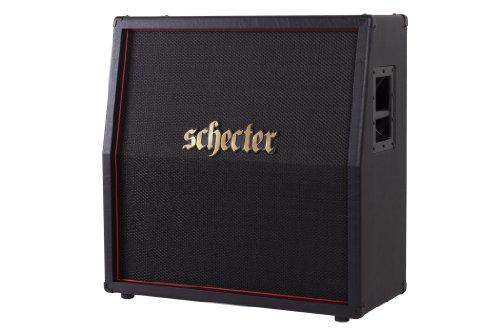 Schecter HR412-SLP1280E Hellraiser Deluxe Stage 4x12 Slant Cab by Schecter