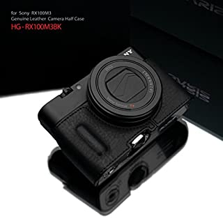 Gariz Genuine Leather HG-RX100M3BK Camera Metal Half Case for Sony RX100III RX100M III with Hand Grip, Black (B00LNJMK0U) | Amazon price tracker / tracking, Amazon price history charts, Amazon price watches, Amazon price drop alerts