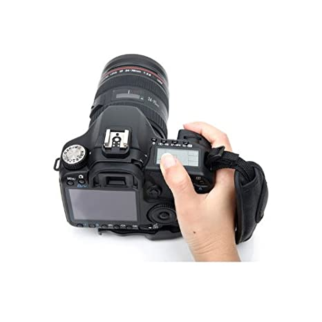 Beiuns ® de cámara de fotos con correa, asa Correa empuñadura de ...
