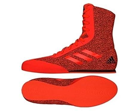 buy popular 54921 466e8 adidas Box Hog Plus Boxing Boot - RedBlack (UK9) Amazon.co.uk Sports   Outdoors