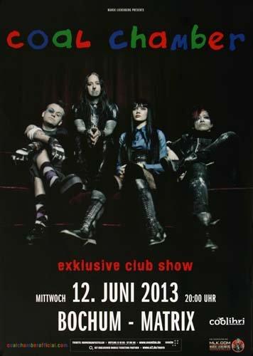 Coal Chamber - Exclusiv 2013 - Concert Poster Plakat