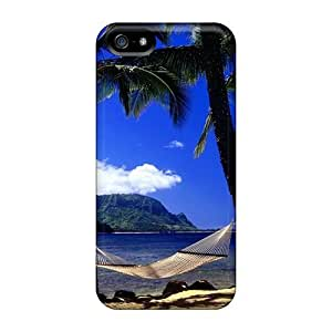 LatonyaSBlack Case Cover For Iphone 5/5s - Retailer Packaging Beach Relaxation Protective Case