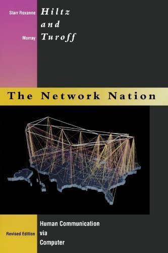 Network Nation - Revised Edition: Human Communication via Computer by Starr Roxanne Hiltz (1993-04-05)